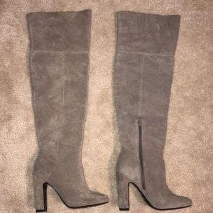ALDO Suede knee high boots!